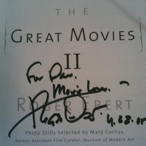 Ebert Autograph